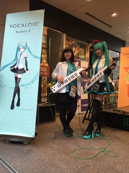 Playing VOCALOID KEYBOARD体験会【イベントレポート】